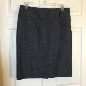 Rafaella Dark Gray Pencil Skirt Size 14